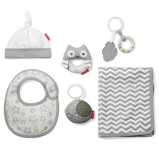 Skip Hop 6 Piece Baby Bundle - Grey-2