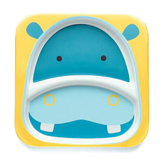 Skip Hop Zoo Plate - Hippo-2