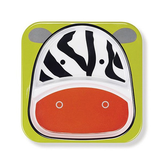 Skip Hop Zoo Plate - Zebra-2