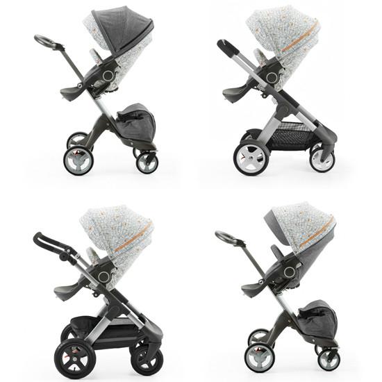 STOKKE Xplory/Crusi/Trailz Stroller Seat Style Kit - Grid -2