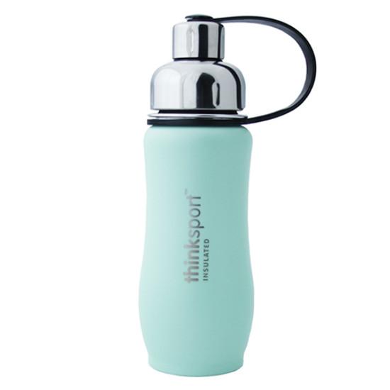 ThinkBaby thinksport Insulated Sports Bottle 12oz - Mint Green
