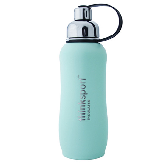 ThinkBaby thinksport Insulated Sports Bottle 25oz - Coated Mint Green