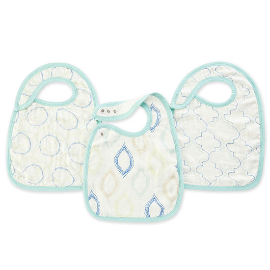aden + anais Bamboo Snap Bibs - Sprouts Product