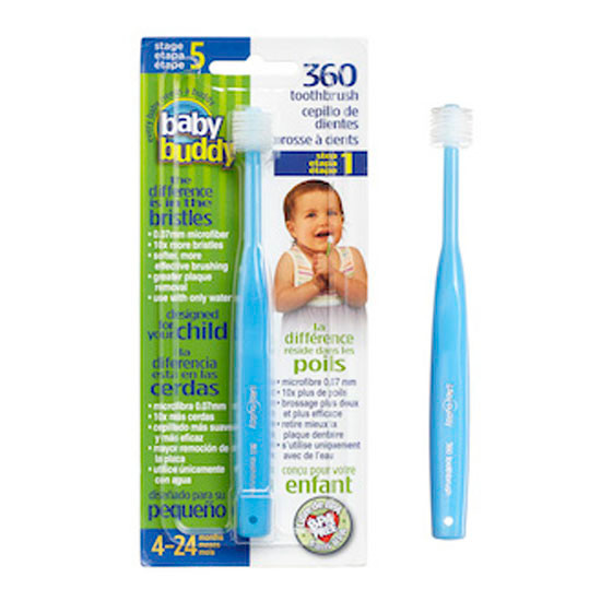 Baby Buddy 360 Toothbrush Stage 5 - Blue