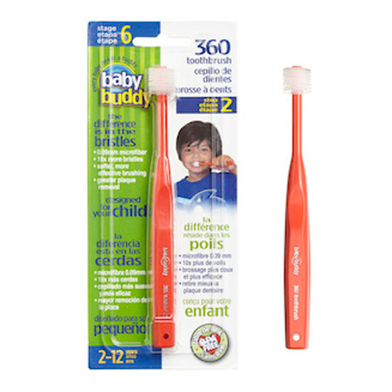 Baby Buddy 360 Toothbrush Stage 6 - Red Product