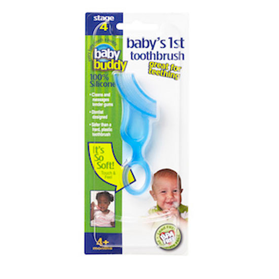 Baby Buddy Baby's 1st Toothbrush - Blue