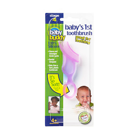 Baby Buddy Baby's 1st Toothbrush - Pink Product