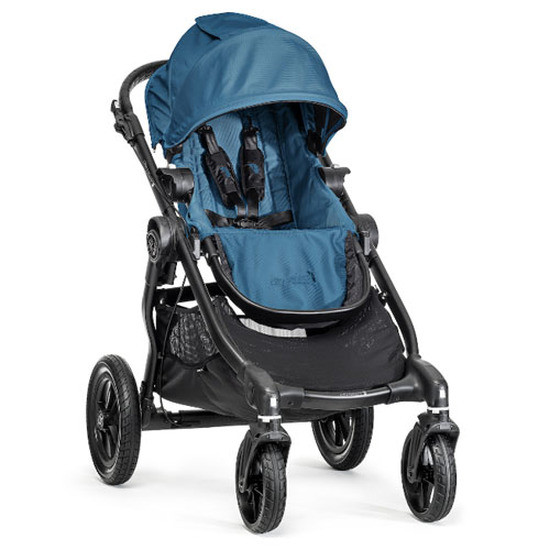 Baby Jogger City Select Black Frame - Teal