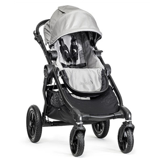 Baby Jogger City Select Black Frame - Silver