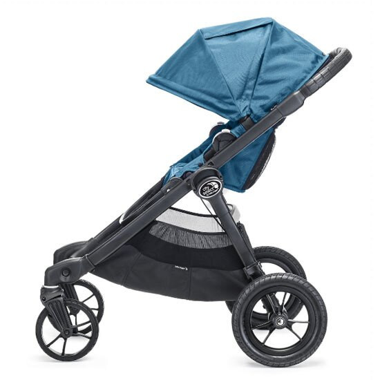 Baby Jogger City Select Black Frame Side