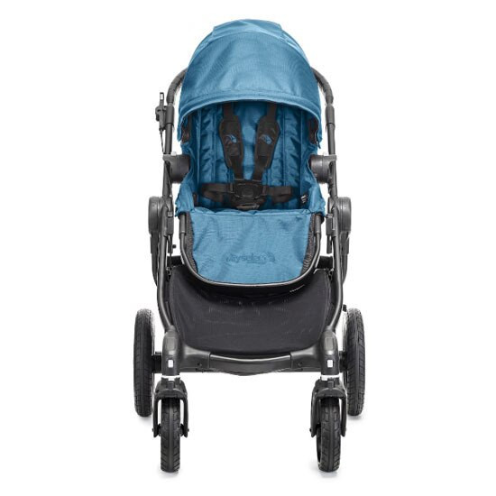 Baby Jogger City Select Black Frame Front