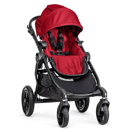 Baby Jogger City Select Black Frame - Red