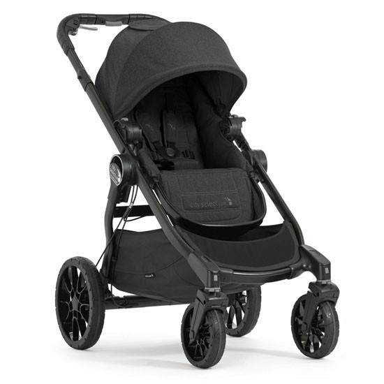 Baby Jogger City Select LUX Stroller - Granite_thumb1