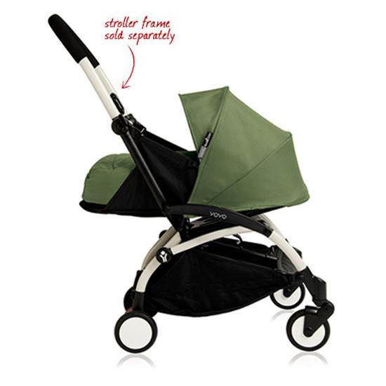BABYZEN YOYO+ 0+ Newborn Stroller Color Pack Peppermint