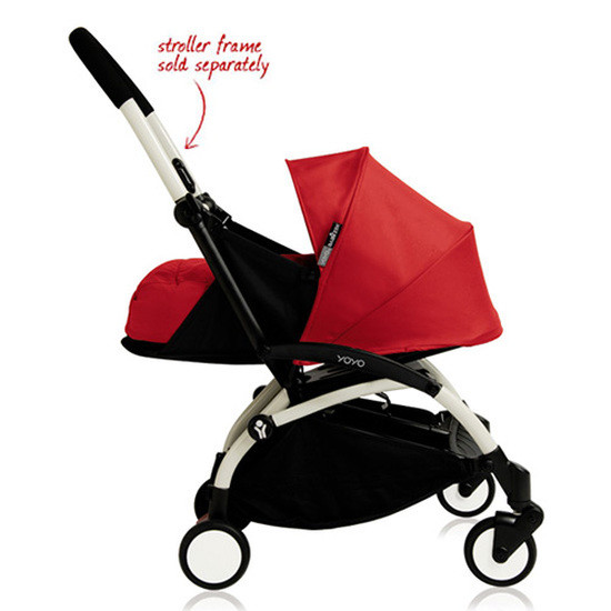 BABYZEN YOYO+ 0+ Newborn Stroller Color Pack Red