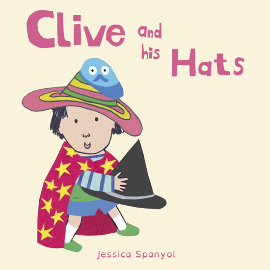 Child's Play Clive and his Hats - All About Clive
