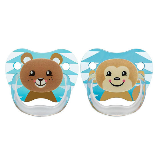 Dr. Brown PreVent Pacifiers in Blue -  Stage 2  - 6-12 Months Product