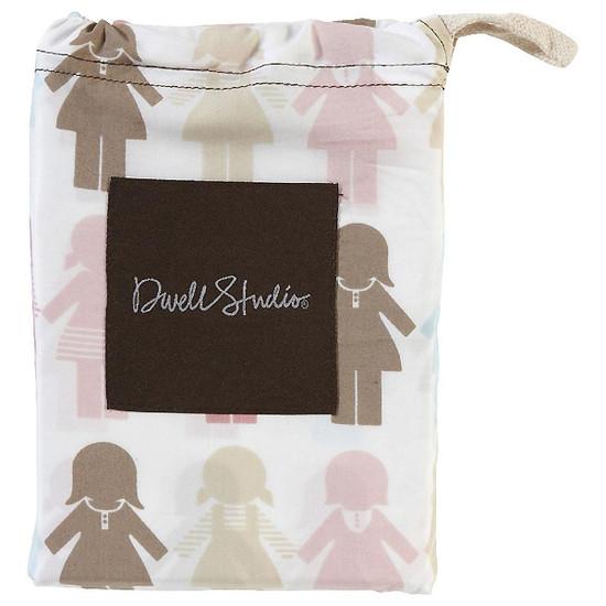 DwellStudio Paper Dolls Petal Fitted Crib Sheet Product