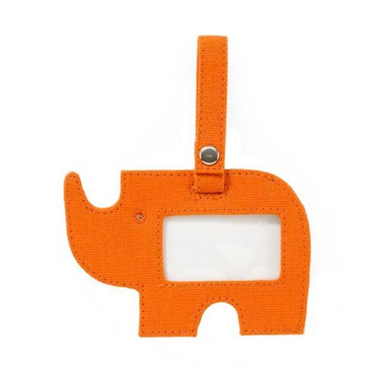 DwellStudio Rhino Orange ID Tag Product