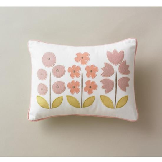 DwellStudio Rosette Blossom Boudoir Pillow