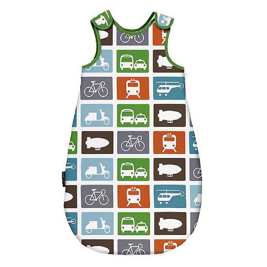 DwellStudio Transportation Multi Night Sack Flannel