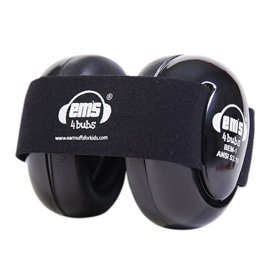 EMS 4 KIDS Buds Earmuffs - Black Product