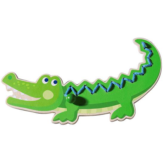 HABA Crocodile Threading Animal