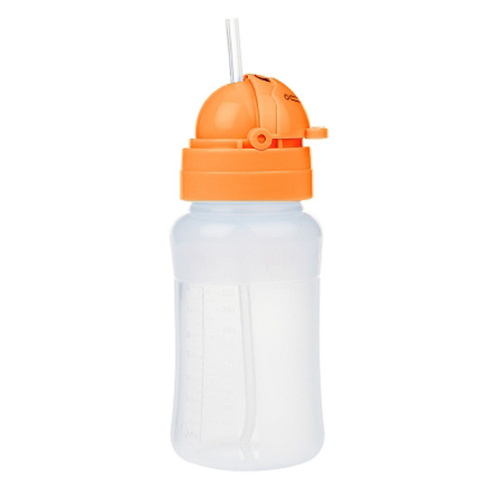 Innobaby Nursin Smart 9oz Silicone Straw Cup - Orange Product