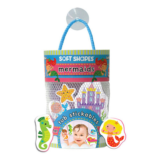 innovativeKids Soft Shapes Tub Stickables - Mermaids