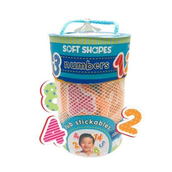 innovativeKids Soft Shapes Tub Stickables - Numbers