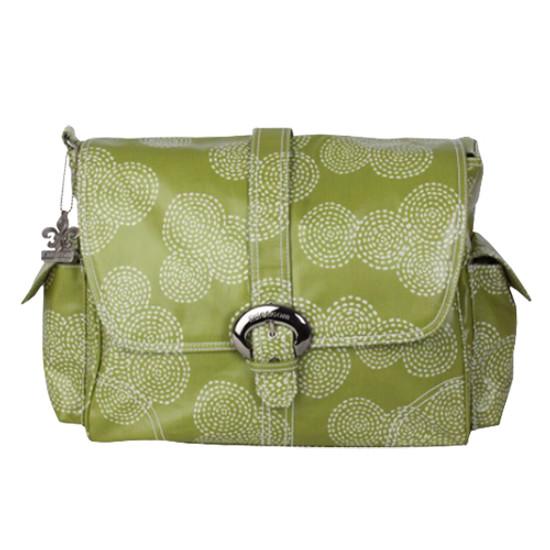 Kalencom Buckle Bag - Coated Matte - Stitches Olive