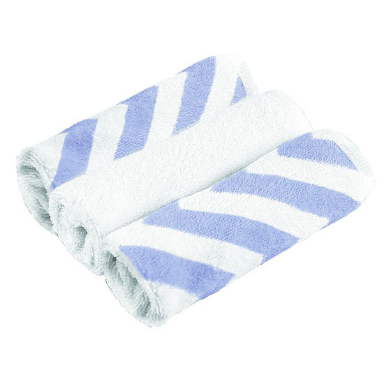 Kushies 3-Pack Wash Cloths - Blue Product