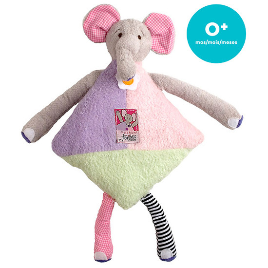 Kushies Kritters Pillow - Ella Elephant