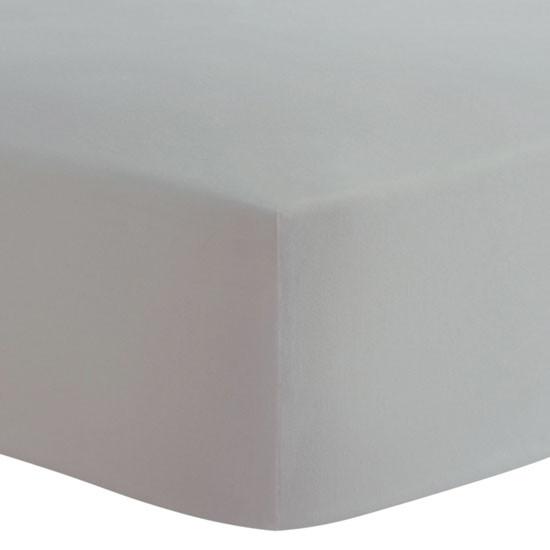 Kushies Organic Fitted Change Pad Sheet - Grey