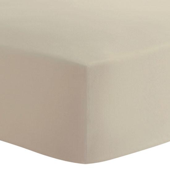 Kushies Organic Fitted Change Pad Sheet - Mocha