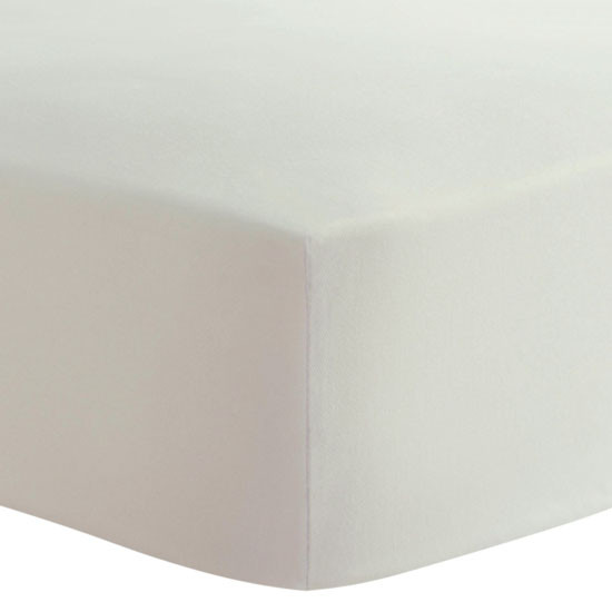 Kushies Organic Fitted Change Pad Sheet - Off-White