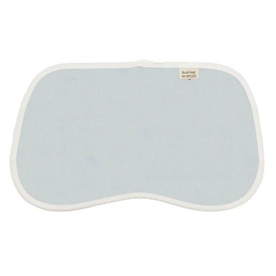 Kushies Organic Jersey Reversible Burp Pads - Blue