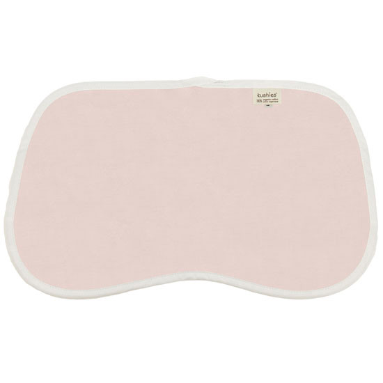 Kushies Organic Jersey Reversible Burp Pads - Pink Product