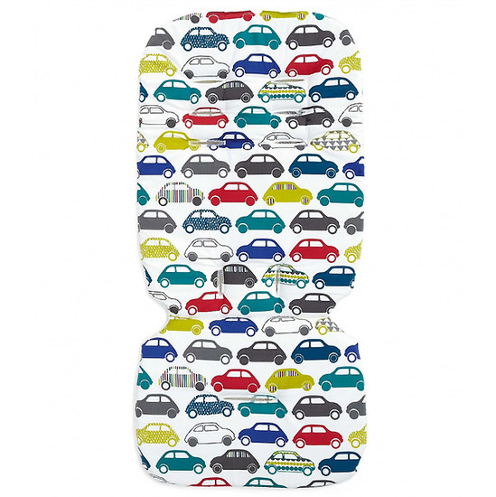 Mamas & Papas Luxury Memory Foam Liner - Traffic Jam Product