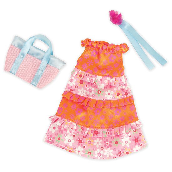 Manhattan Toy Groovy Fashion Fabulous & Flouncy Dress