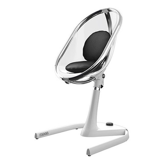 Mima Moon 2G High Chair - White/Black