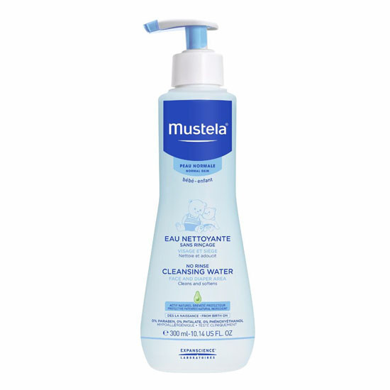 Mustela No Rinse Cleansing Water - 300ml
