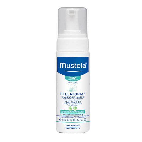 Mustela Stelatopia Foam Shampoo - 150ml