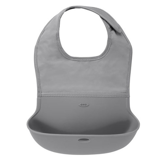 OXO Roll-Up Bib - Grey Product