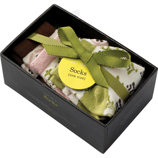 Petunia Pickle Bottom Organic Knit Cotton Socks Girls - One Size Product