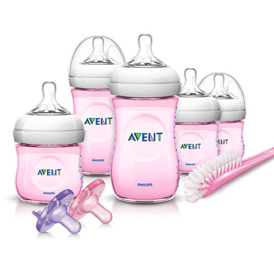 Philips Avent Natural Infant Starter Set - Pink