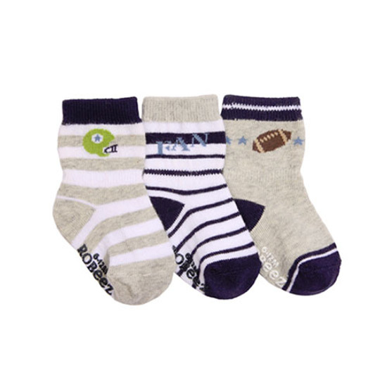Robeez Dream Big Baby Socks 3 Pack - 0-6 months Product