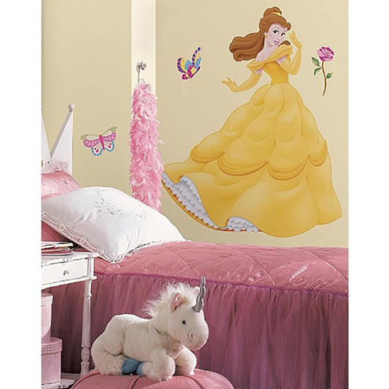 RoomMates Giant Appliques Disney Princess Belle Product