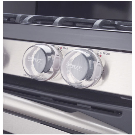 Safety 1st Clear View Stove Knob Covers Product