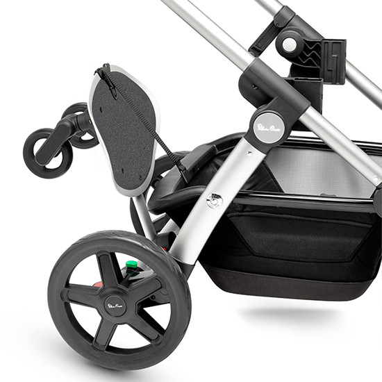 Silver Cross Wave Stroller Board Example lifted